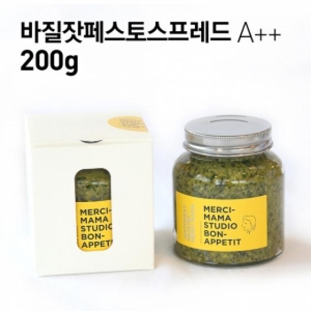 [강원] 빵반찬 바질잣페스토스프레드 A++ 240g