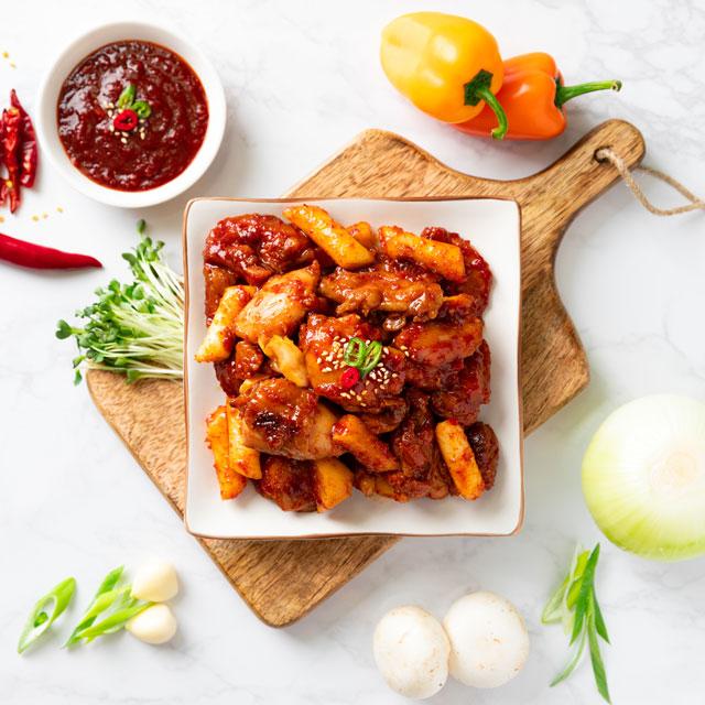 (강원)마들 춘천 닭갈비 맛집 택배 1kg