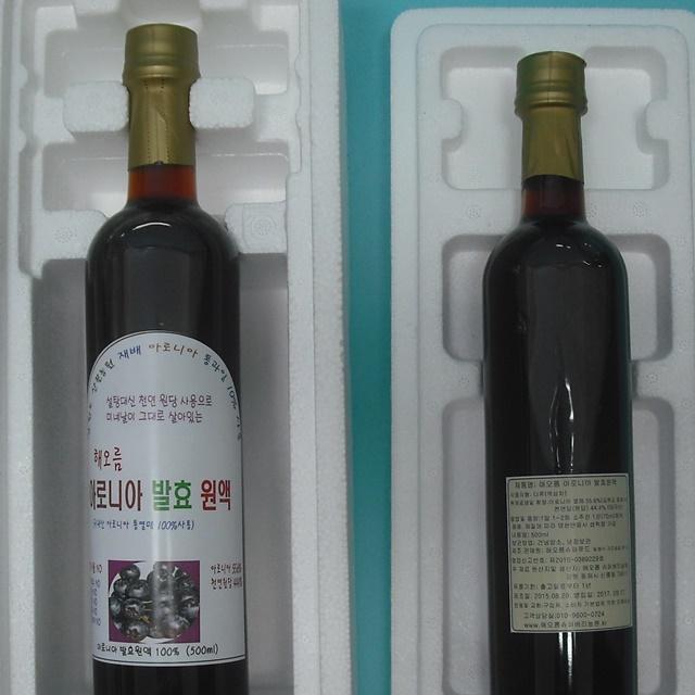 (강원) 아로니아발효액 2015년산