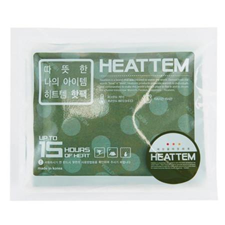 핫팩 히트템 그린 1박스(10개입)  /대용랑/ 포켓용핫팩 /군용핫팩/다봉산업