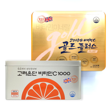 고려은단 비타민C 골드플러스 1120mg 360정, 비타민씨1000 300정