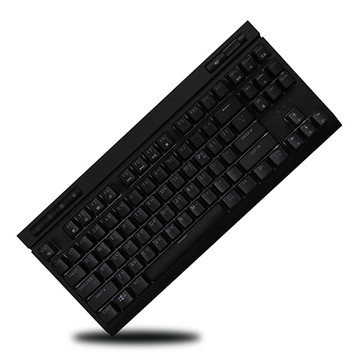 몬스타기어 MK87 RGB LED 갈축 적축 게이밍 기계식키보드 블랙 적축