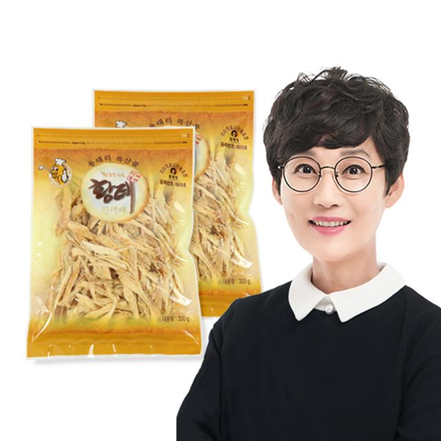 (강원)인제용대황태연합회 황태채200g 2봉 선물세트